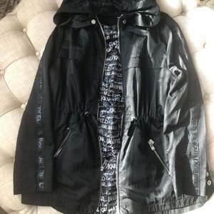 Karl Lagerfeld wind jacket with hood